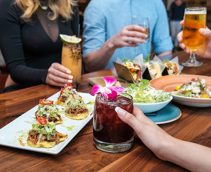 Happy Hour food and drink